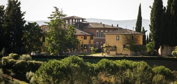 Das Anwesen Santa Chiara in Siena