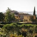 Das Anwesen Santa Chiara am Ortsrand von Siena
