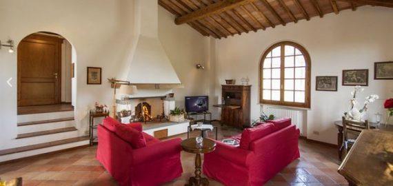Innenansicht Ferienwohnung Siena - Wohnraum