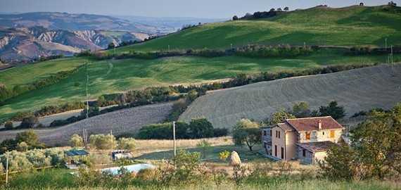 Toscana Villa La Castellina im Val d'Orcia
