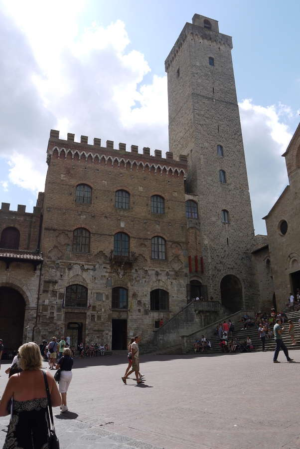San Gimignano in Toskana