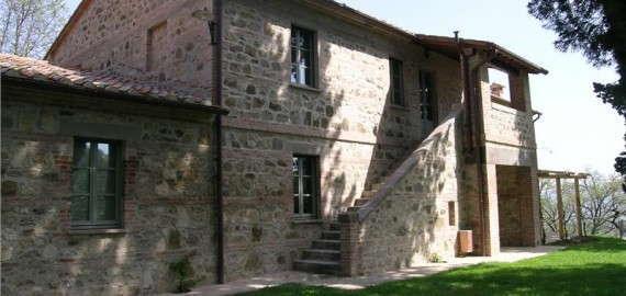 Villa Buonsignori im Süden der Toskana