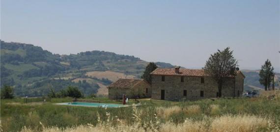 Ferienhaus Italien Casa Oliveto im Val d'Orcia