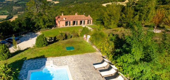 Ferienhaus Mugello - Villa Mazzino, Lage