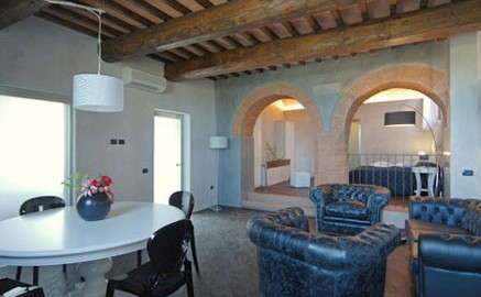 Apartment V. Carmignani im Landhaus San Giusto