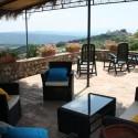 Landhaus San Ansano - möblierte Terrasse