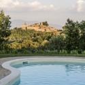 Landhaus San Ansano mit herrlichem Blick zur Mittelalterstadt Pari