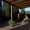 Terrasse 1. Etage Ferienwohnung Pervinca