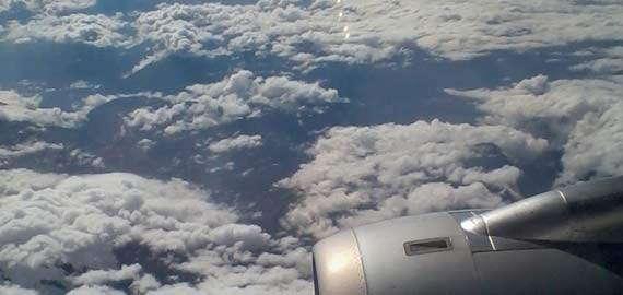 mit dem Flugzeug in die Toskana