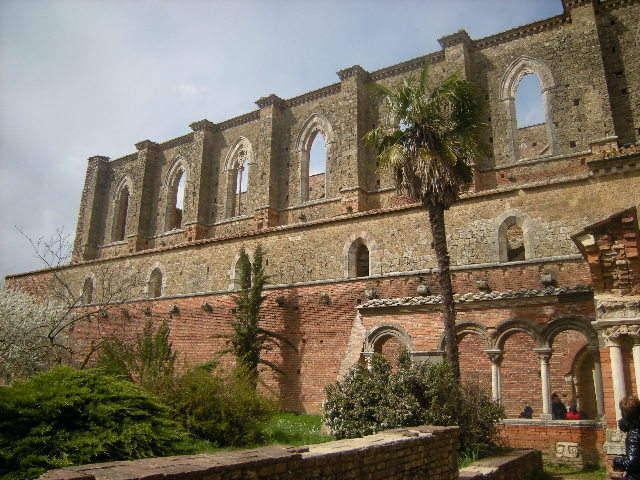 Abbazia San Galgano in der Provinz Siena, Toskana