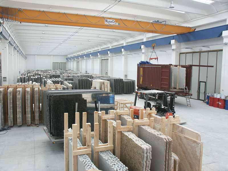 Marmor Industrie und Handel in Carrara