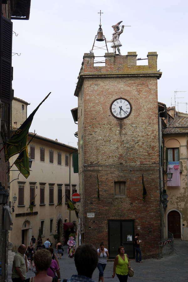Montepulciano - Torre di Pulcinella