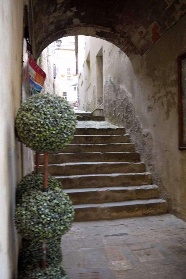 Montepulciano - verwinkelte romantische Gassen