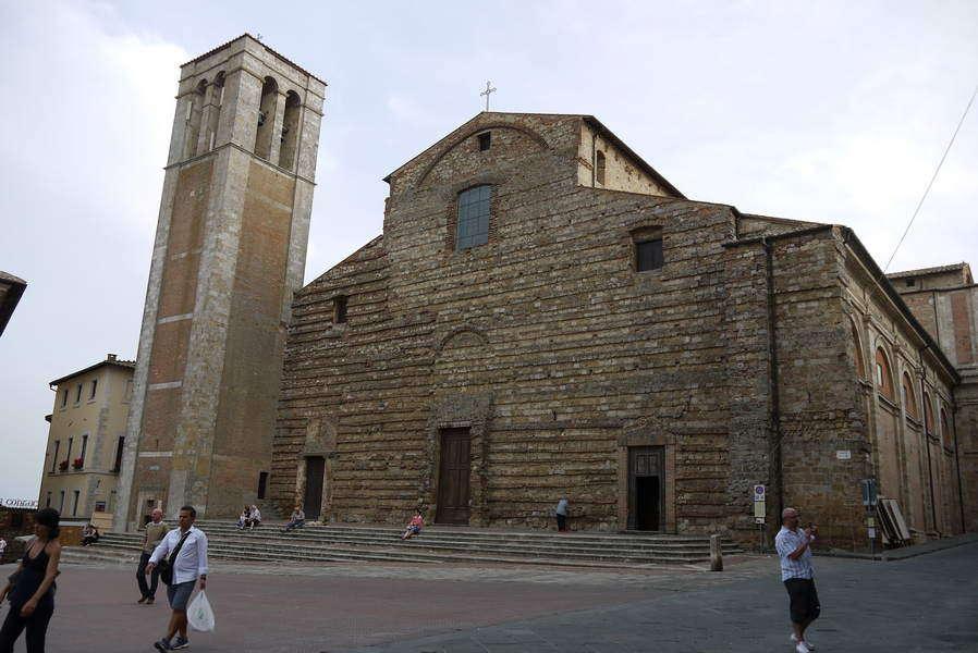 Der Dom von Montepulciano