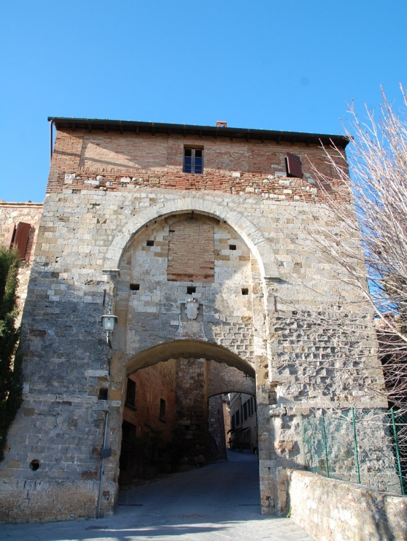 Porta della Farine, Montepulciano