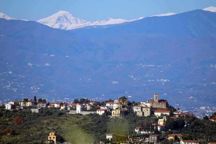 Landschaft bei Pistoia