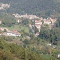 das Dorf Marradi in der Region Mugello