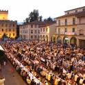 Sagra im Dorf Firenzuola