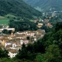 das Dorf Marradi