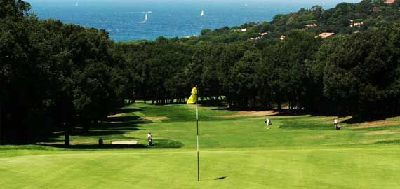 Golfclub Punta Ala an der Südküste der Toskana
