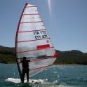 Windsurfen am Lago di Bilancino