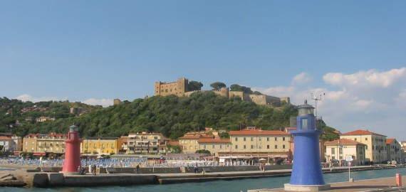 Castiglione della Pescaia an der Südküste der Toskana