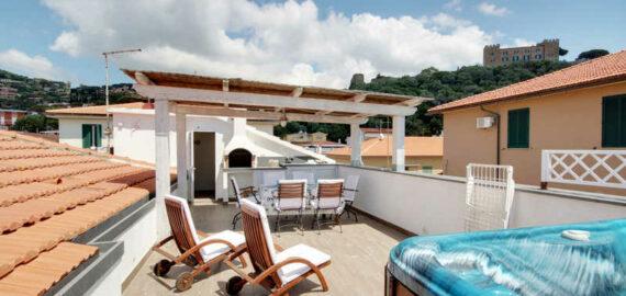 strandnahes Apartment il Covo in Castiglione della Pescaia