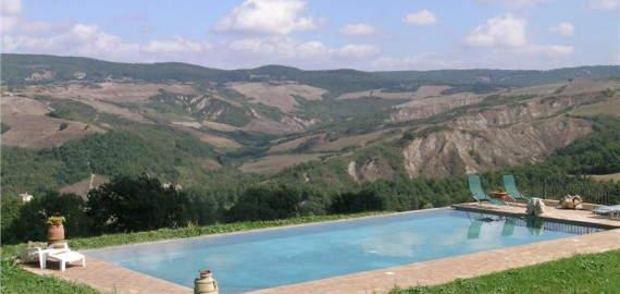 Toskana Landhaus Macetona im Val di Chiana