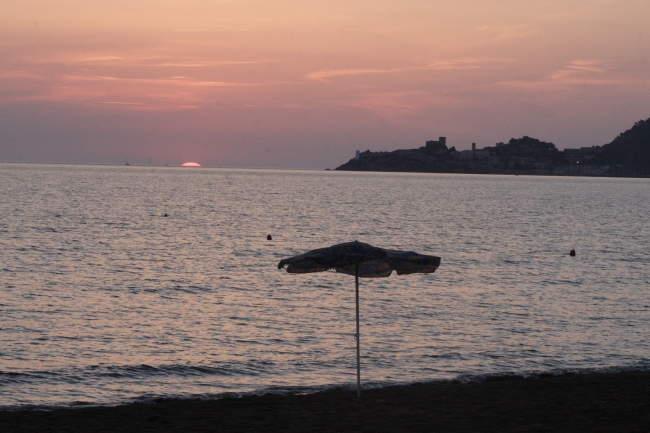 Marina di Alberese - Romantischer Sonnenuntergang