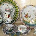 Keramiken aus der Werkstatt Villa Emaldi