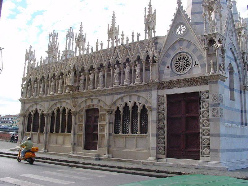 die Kirche Santa Maria della Spina