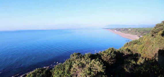 Der Küstenstreifen der Maremma