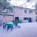 Toskana Ferienwohnung mit Meerblick - Aussenansicht