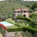 Villa La Guardata, Lage