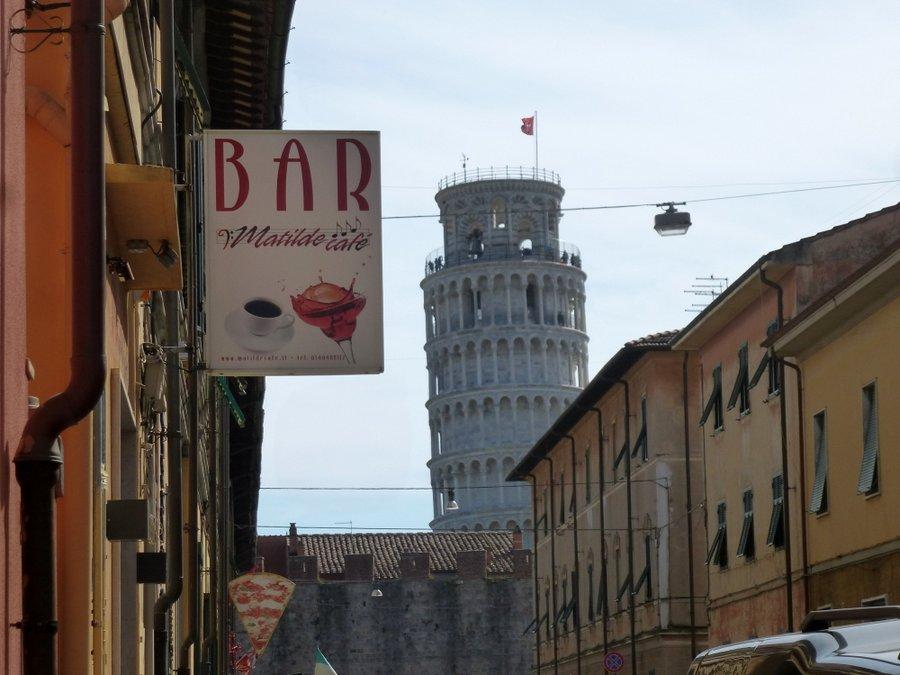Pisa - eine Stadt will erobert werden...