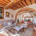 Toskanisches Landhaus Casa del Re, Innenansicht