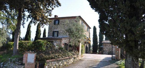 Toskanisches Landhaus Casa del Re- Aussenansicht