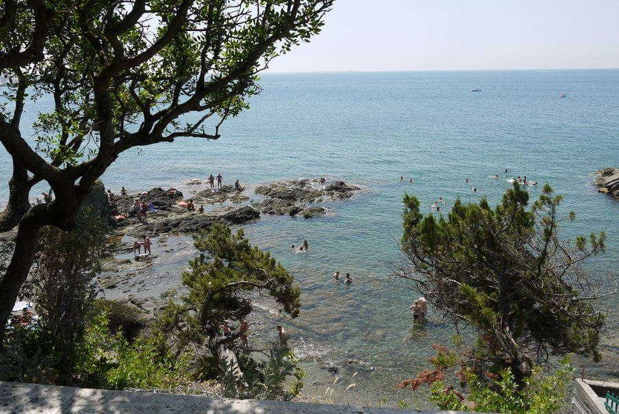 Badevergnügen im Seebad Castiglioncello
