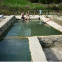 Die öffentliche Therme von San Casciano dei Bagni