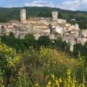 Der mittelalterliche Thermalkurort San Casciano dei Bagni in der Provinz Siena