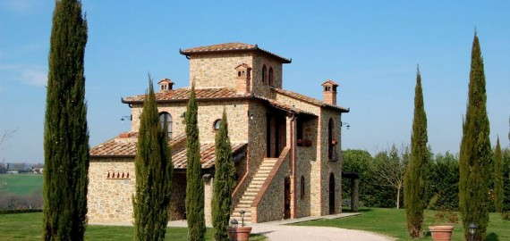 exclusive Villa in Umbrien - Villa Chiara Luna