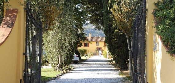 Villa Cerreta in der Provinz Pistoia