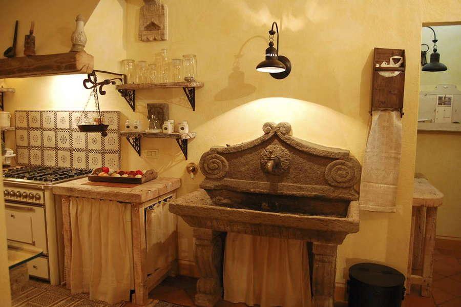 toskana aussergewöhnliches ferienhaus poggio aperto - toskavista - Toskana Küche