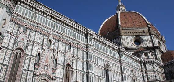 die Kuppel des Duomo di Santa Maria del Fiore - Weltkulturerbe der Toskana