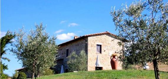 freistehendes Ferienhaus Bagnolo mit großem Garten