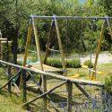 Familienfreundliches Ferienhaus mit privatem Spielplatz im Garten
