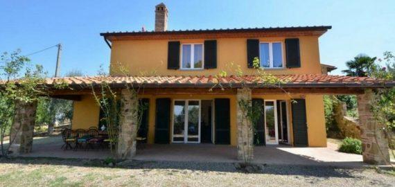 Ferienhaus Arezzo - Aussenansicht