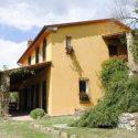Ferienhaus Arezzo - überdachte Terrasse