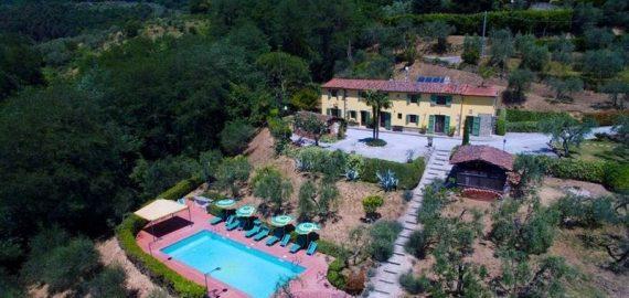 Ferienhaus Montecatini Terme, Lage