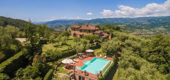 Ferienhaus Villa Roncosi in herrlicher Panoramalage